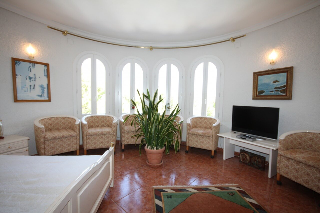 Denia, Villa mit Gästeapartment
